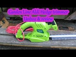 aldi hedge trimmer review gardenline