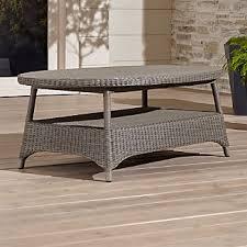 outdoor furniture crate and barrel. Bridgewater Coffee Table Outdoor Furniture Crate And Barrel
