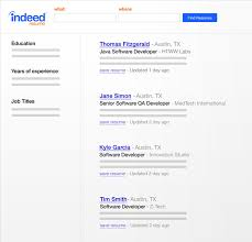 How To Make A Resume For A Job Impressive Create Your Resume On Indeed Indeed