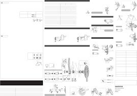 Ev Fd M771 10 3062 Shimano Xt 10s User Manual