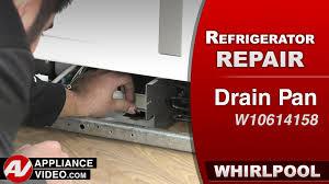refrigerator drip pan overflow. Beautiful Overflow Whirlpool KitchenAid U0026 Kenmore Refrigerator  Drip Pan Repair Diagnostic  YouTube Throughout Refrigerator Pan Overflow E