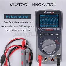 Upgraded MUSTOOL <b>MDS8207 2in1</b> 40MHz Digital Multimeter ...