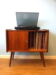 vinyl record storage furniture. Lp Record Storage Cabinet Album Live This Vintage Vinyl Furniture