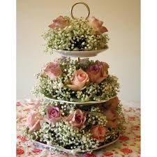 Decorative Cake Stands Vintage China Cake Stand 3 Tier Wedding Centre Pieces And