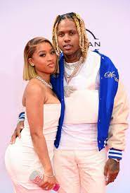 Rapper Lil Durk and girlfriend India ...