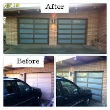 glass garage doors cost clopay door