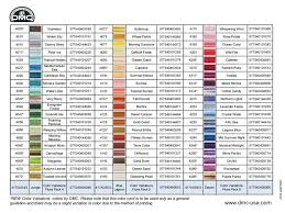 Finca Perle Cotton Color Chart Dmc Floss Chart By Number Best Picture Of Chart Anyimage Org