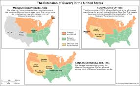 Missouri Compromise Summary Map Significance Britannica