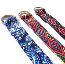 Resistance Bands Color Pattern Stretch Belt Lacing Yoga Rope Wall Lanyard Tension Belt Auxiliary Yoga Stretching Belt Resistance Tubes Sport Equipment