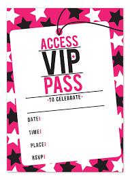 Invitation Ticket Template vip admission ticket template poesiafmtk 69