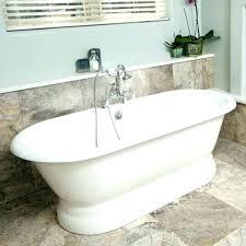 acrylic vs cast iron bathtub bathtubs claw foot bath tub