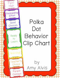 Clip Chart Behavior Management System Behavior Clip Chart Behavior Management Polka Dots
