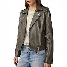 david jones witchery zip leather jacket