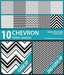 Illustrator Pattern Fill Enchanting 48 Chevron Stripes Pattern Swatches By DoucetteDesigns GraphicRiver