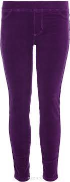 <b>Брюки для девочки Sela</b>, цвет: виноградно-фиолетовый. P-615 ...