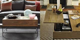 Captivating Rustic Storage Coffee Table By West Elm 3 Awesome Ideas