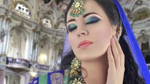 green and blue smokey eye makeup tutorial asian indian bridal video dailymotion
