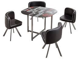 Table Cuisine Avec Chaise Encastrable En Photo