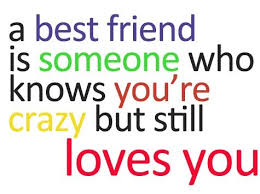I Love My Best Friend Quotes Interesting I Love My Crazy Best Friends Quote Quote Number 48 Picture