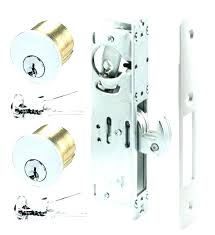 door locks from outside full image for um image for rite sliding door locks mercial door