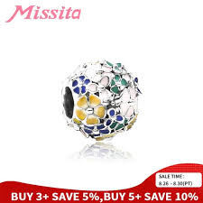 <b>MISSITA</b> Original Green Leaf Charms Bracelet with Green Crystal ...