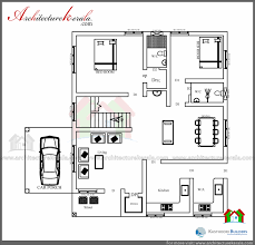 house plans with approximate building cost beautiful low cost 3 bedroom kerala house plan with elevation