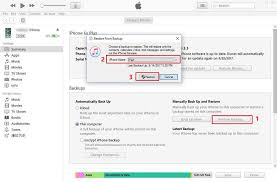 How To Restore Itunes Icloud Backup To Iphone X