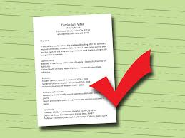 How To Make A Cv From A Resume Resume For Your Job Application