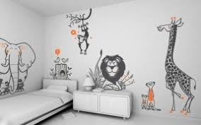 giraffe zebra wall art stickers childrens rooms monkey lion animal forest zoo decorations decals bedroom accessories on wall art stickers for childrens rooms with wall art designs top wall art stickers childrens rooms childrens