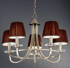 carousel 5 light bronze chandelier with shades franklite lighting