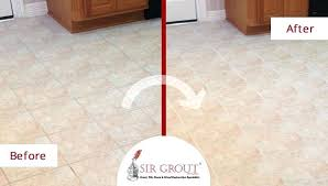 cleaning grout lines before after picture of a grout cleaning in cleaning grout lines with baking
