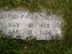 Effie Quinn Toland (1872-1934) - Find A Grave Memorial