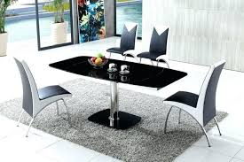 glass dining table set ikea round black kitchen 36 chairs tables marvellous and wood delectable