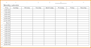 Free Weekly Schedule Template Excel Yearly Schedule Template Excel Calendar Free Weekly For