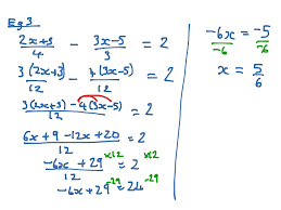most viewed thumbnail solve linear equations involving fractions
