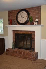 brick fireplace mantels. Fireplace-mantel Brick Fireplace Mantels