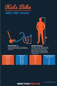 Bike Size Chart Age 26 Explanatory Bike Age Chart