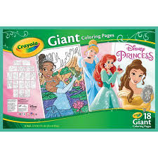 Crayola Disney Princess Coloring Pages Giant Coloring Pages 18