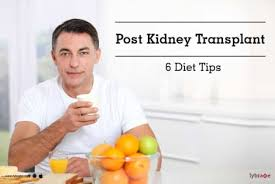 Diet Chart For Kidney Transplant Patients Post Kidney Transplant 6 Diet Tips By Dt Shweta Diwan