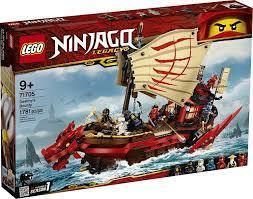 LEGO NINJAGO Legacy Destiny's Bounty 71705 Ninja Toy Building Kit | Lego  ninjago, Ninjago lego sets, Ninjago