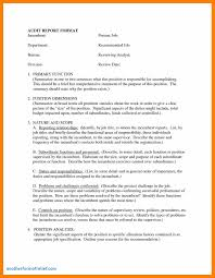 Printable Resume Samples Safety Analysis Report Template Cool Audit Report Template Word 67