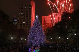 Daley Center Tree Lighting Chicago Holiday Events Caroling At Cloudgate Christmas
