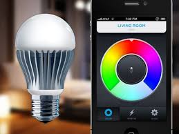 iphone controlled lighting. Interesting Iphone LIFX Wi Fi Enabled Smartphone Controlled Light Bulb With Control Lights  Iphone Plan 2 For Lighting A