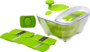 "<b>Овощерезка</b> As Seen On TV ""Salad All In One"", зеленый — купить ..."