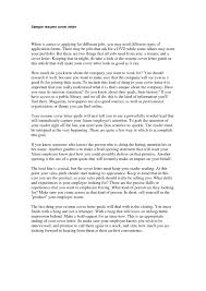 Plain Text Version Of Your Cover Letter Cover Letter