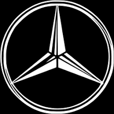 White mercedes benz icon - Free white car logo icons