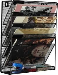 metal mesh wall mounted file