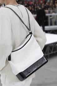 chanel bags 2017 black. chanel white/black gabrielle hobo bag 3 - fall 2017 bags black a