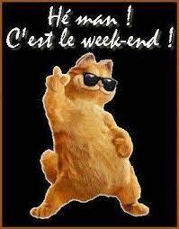 c'est vendredi #weekend   Bon weekend, Vendredi, Mort de rire