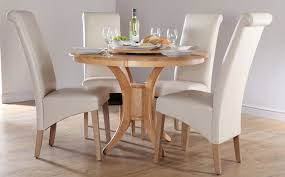 small round dining table and chairs set for 4 homesfeed kitchen cabinet ideas
